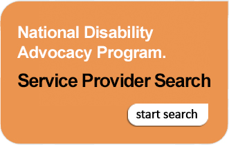 National Disability Advocacy Program Service Provider Search